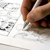 camp de bande dessinée et illustration